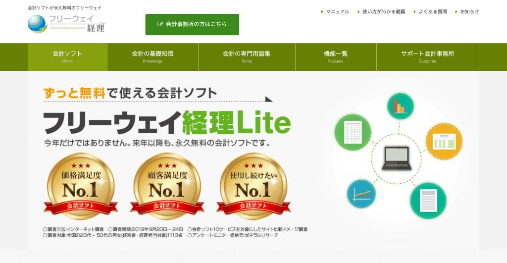 フリーウェイ 経理Lite_株式会社フリーウェイジャパン