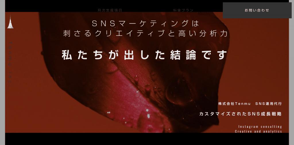 SNS運用代行_株式会社 Tenmu